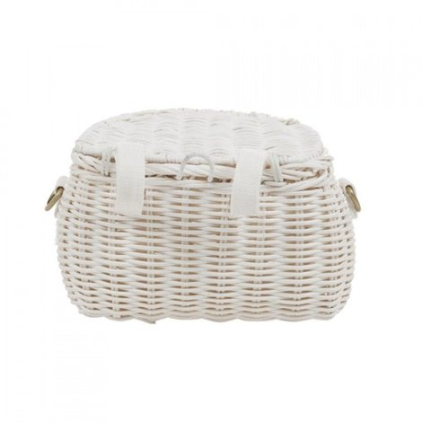 Basket Mini Chari White