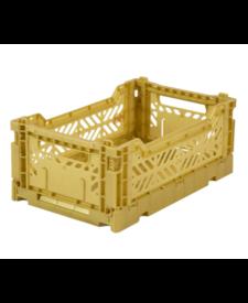 Folding Crates Mini Gold