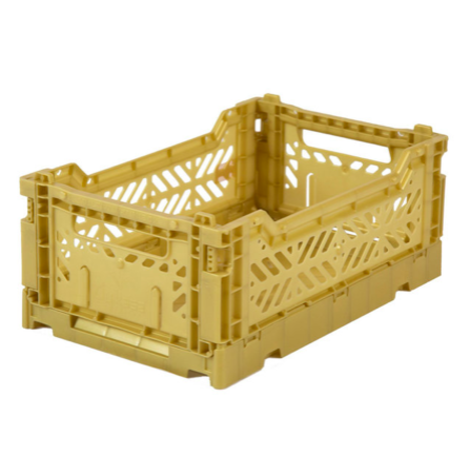 Folding Crates Mini Gold