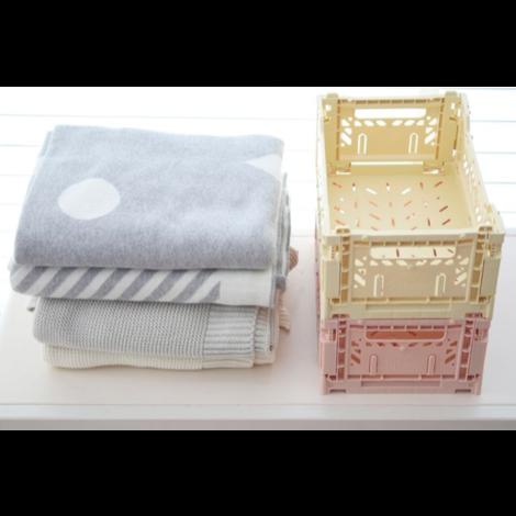 Folding Crates Mini Baby Blue