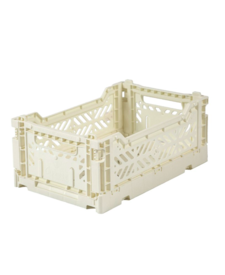 Folding Crates Mini Cream
