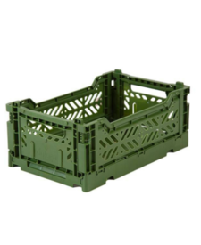 Folding Crates Mini Khaki