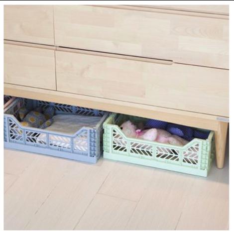 Folding Crates Midi  Khaki