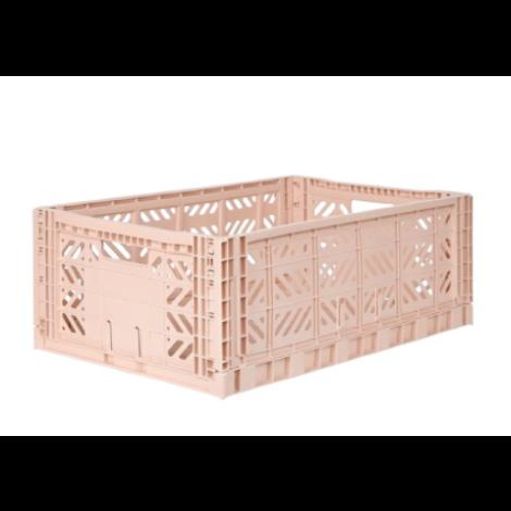 Folding Crates Maxi Milk Tea