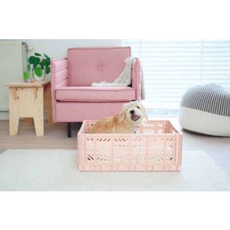Folding Crates Maxi Warm Taupe