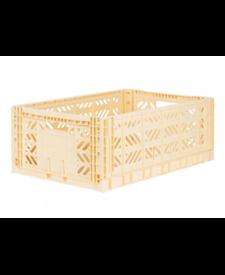 Folding Crates Maxi Banana