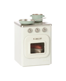 Metal stove With Utensils