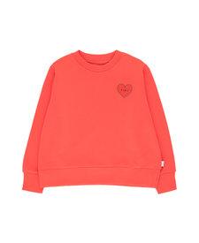 Tiny Heart Crop Sweatshirt