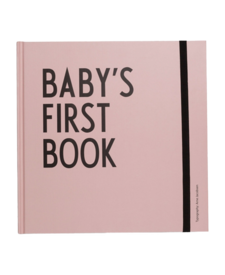 Baby's First Book Pink