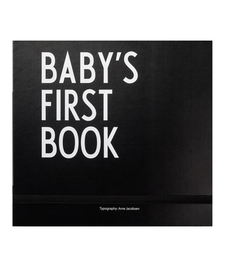 Baby's First Book Black