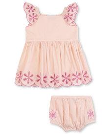 Dress Anglaise Embroidery