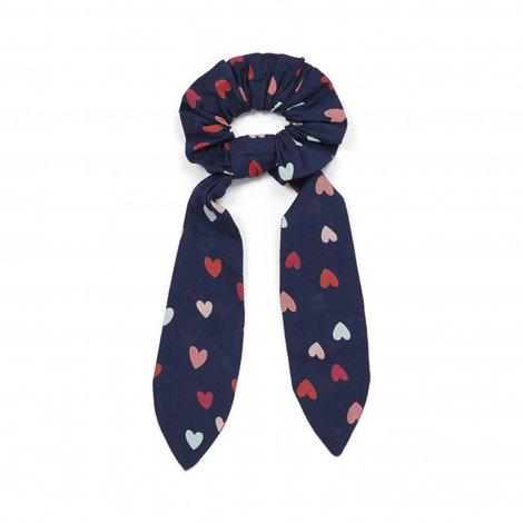 Bonton Scrunchie Knot Hearts