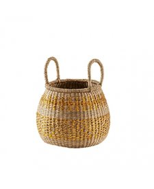 Bonton Glitter Wicker Basket Small