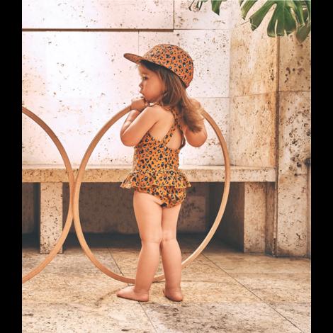 Amara Swimsuit Leo Mustard