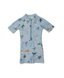 Swim Jumpsuit Sea Creatures