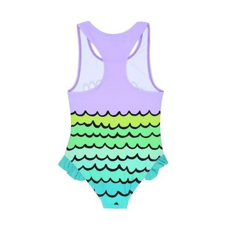 Mermaid Shells Swimsuit Girl