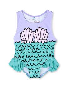 Mermaid Shells Swimsuit Baby