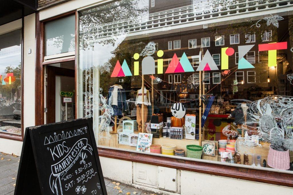 Minimarkt concept store in Amsterdam