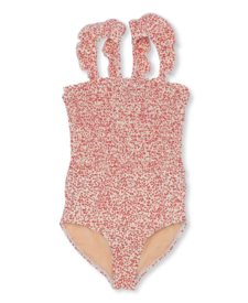 UV Swimsuit Blossom Mist Grenadine