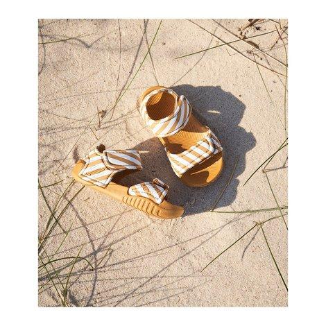 Blumer Sandals Stripe Mustard