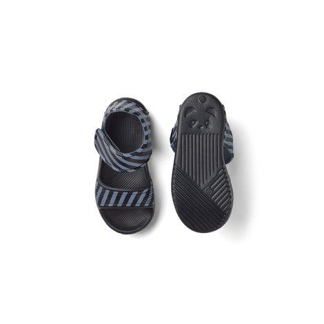 Blumer Sandals Stripe Blue