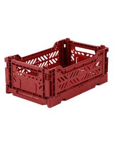 Folding Crates Mini Tile Red