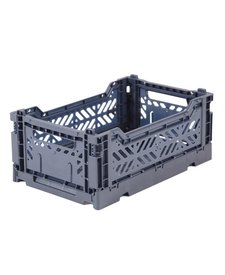 Folding Crates Mini Cobalt Blue