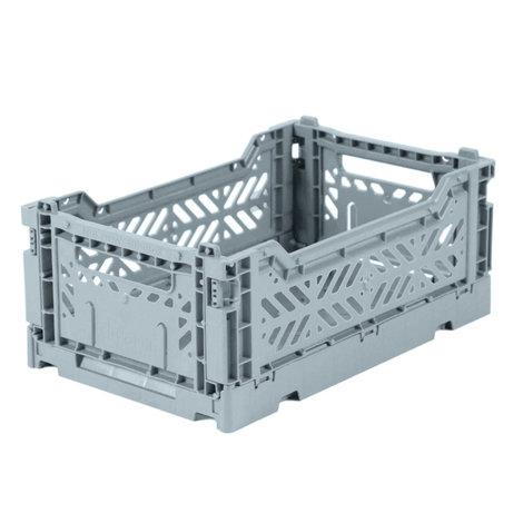 Folding Crates  Mini Pale Blue