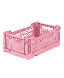 Folding Crates Mini Baby Pink