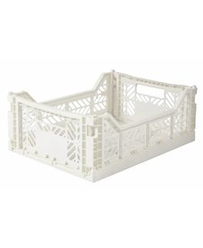 Folding Crates Midi Coconut
