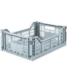 Folding Crates Midi  Pale Blue
