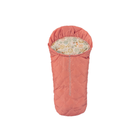 Sleeping Bag Small Mouse Peach
