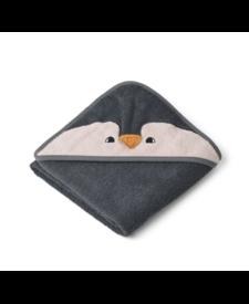 Albert Hooded Towel Grey