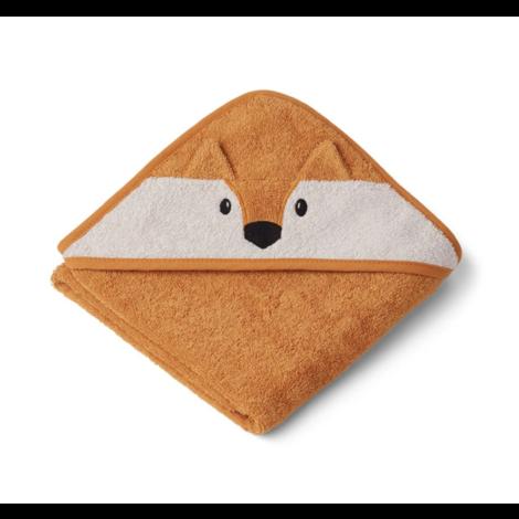 Albert Hooded Towel Mustard