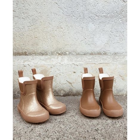 Welly Rubber Caramel Boots