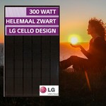 Lg Solar LG300N1K-G4 volledig zwart Zonnepaneel met zeer hoog vermogen van 300Wp