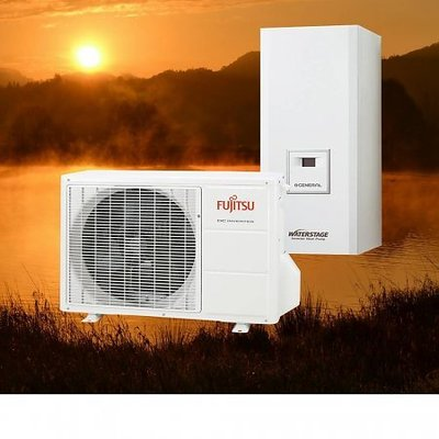 Fujitsu Waterstage Warmtepomp Comfort - WC08