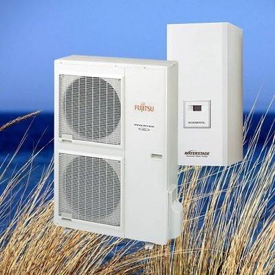 Fujitsu Waterstage Warmtepomp HT 3 fase WH16F