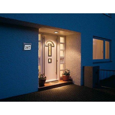 Esotec Huisnummerverlichting RVS - Solar