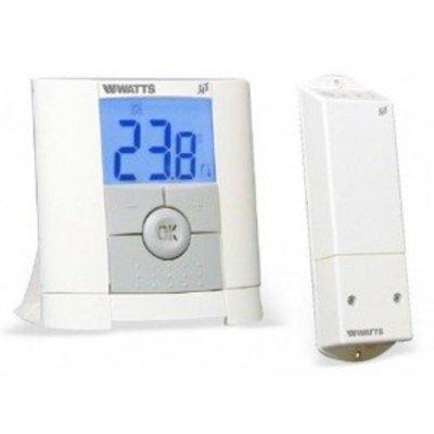 Watts Digitale draadloze thermostaat + ontv,   Belux Light