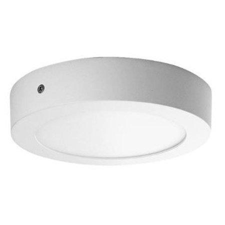 QUALEDY® LED Opbouw Paneel - 120x32 - Rond - 6W - 3000K - 450Lm