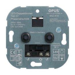 Opus Duo inbouwdimmer- faseaansnijding