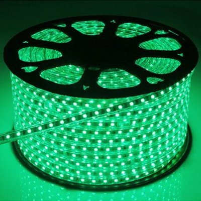 QUALEDY® LED Strip 230V - Groen - 14,4W/m SMD5050