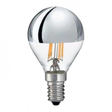 QUALEDY® LED E14-G45-Filament Spiegellamp - 4W - 440Lm - 2700K - Dimbaar