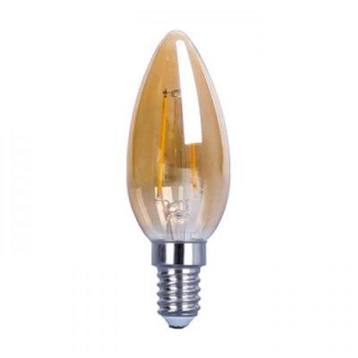 QUALEDY® LED E14-Filament - C35 - 4W