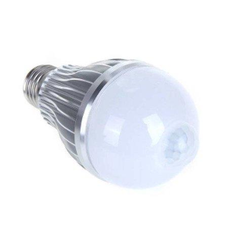 QUALEDY® LED E27-PIR-Bewegingssensor-lamp - 7W - 2700K - 770Lm