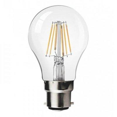 QUALEDY® LED B22-Filament lamp - 8W - 2700K