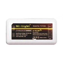 Mi-Light Mi-Light - Single Color LED Strip Controller - 12-24V - 6A - 4 Zones