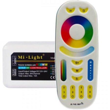 Mi-Light Mi-Light - RGB LED Strip Controller - 12-24V - 6A - 4 Zones