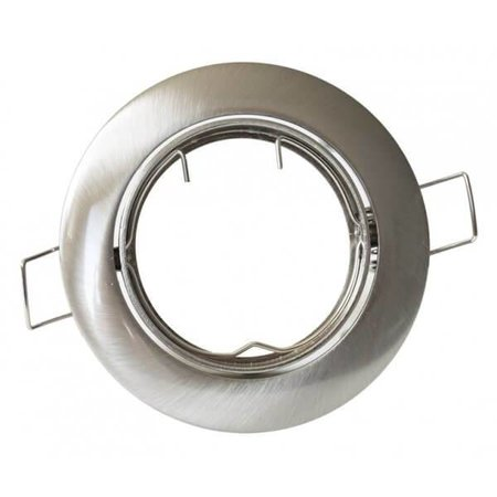 Kanlux Armatuur rond  of vierkant (RVS-glans)